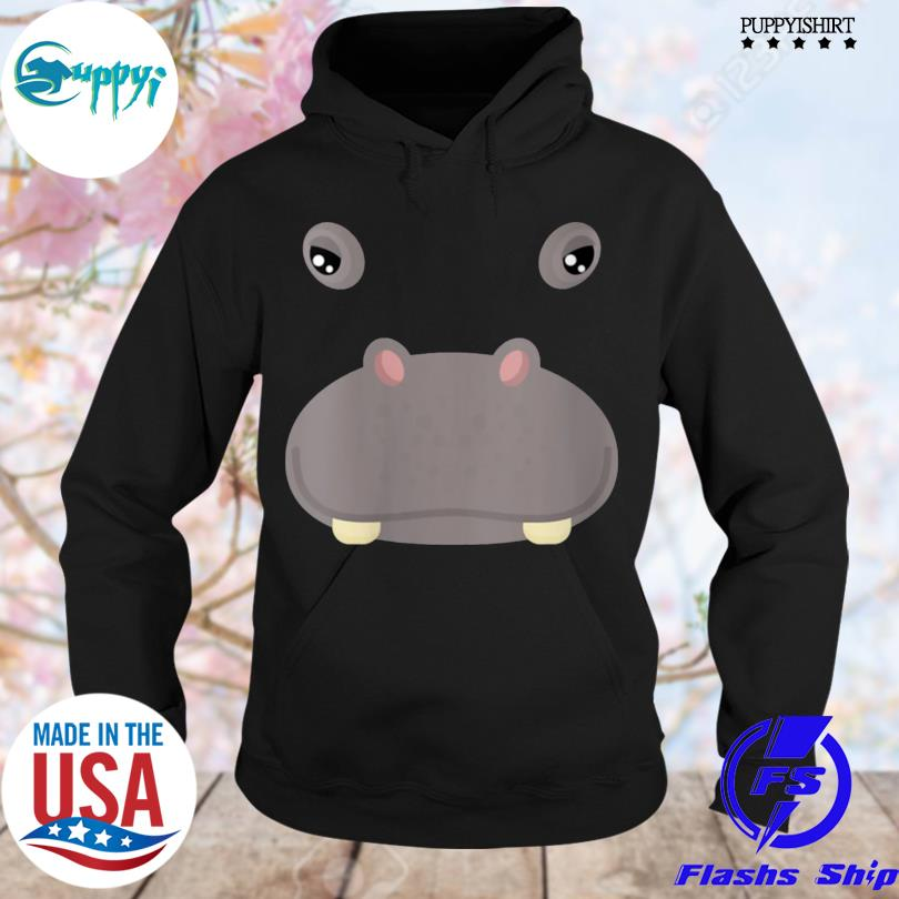 Best animal face hippo costume halloween adults s hoodie
