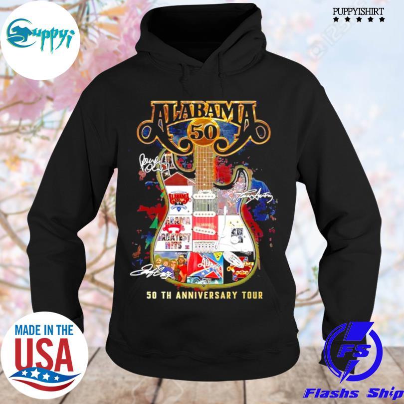 Nice alabama 50th anniversary tour s hoodie